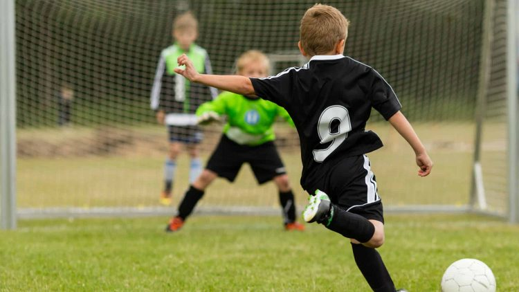 A nutrição no futebol infantil